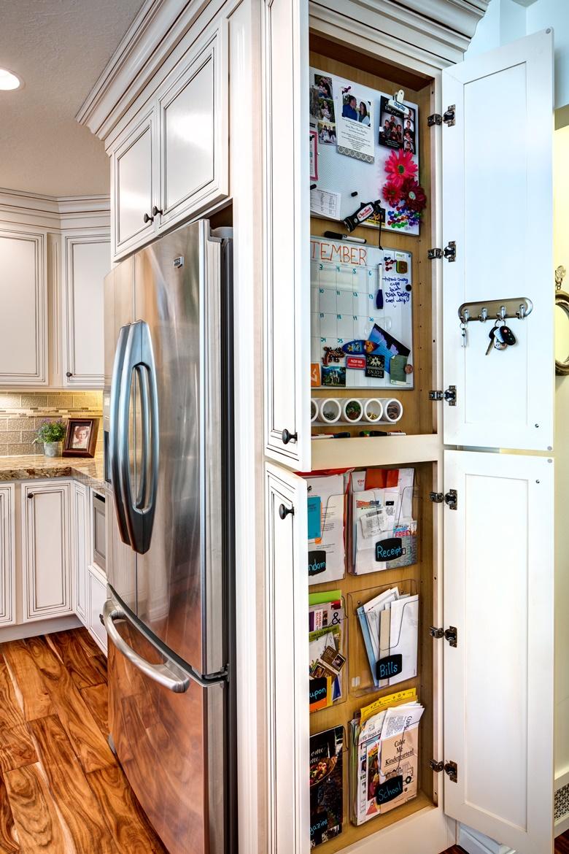 Refrigerator End Organizer Cabinet