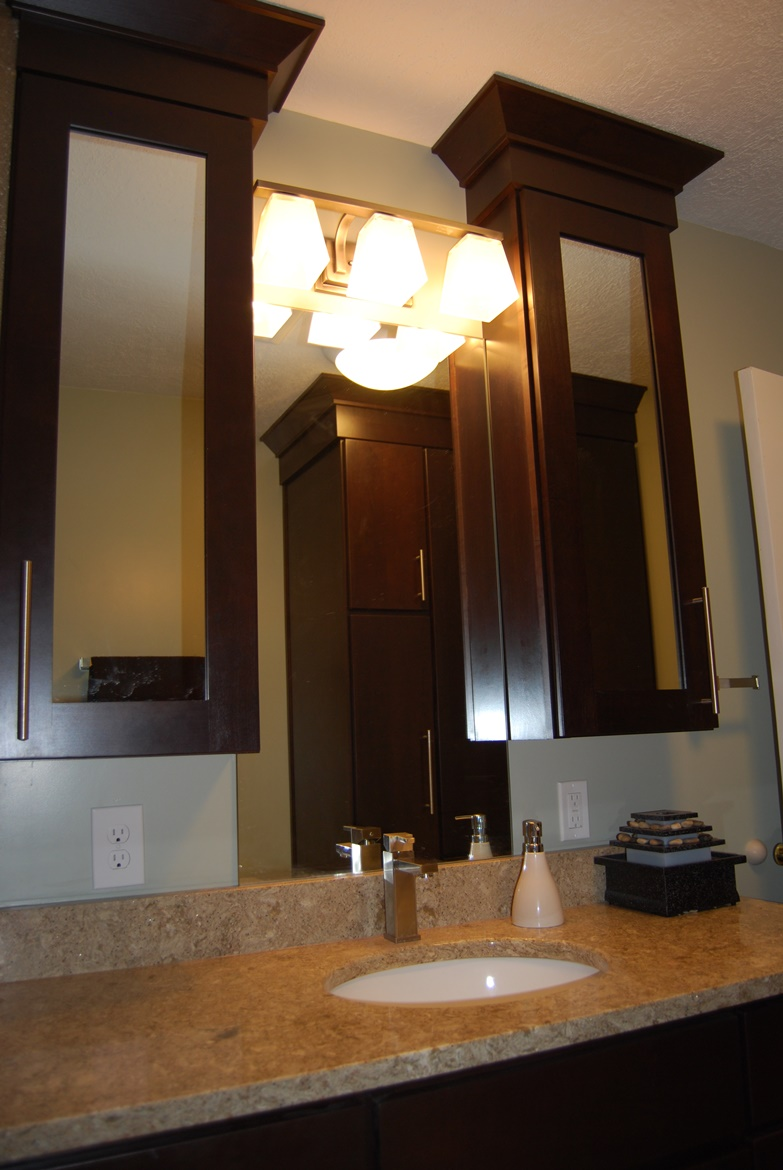 Wall Mirror Bath Cabinets