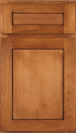 Pioneer Alder Ginger Toffee Five Piece Drawer Front