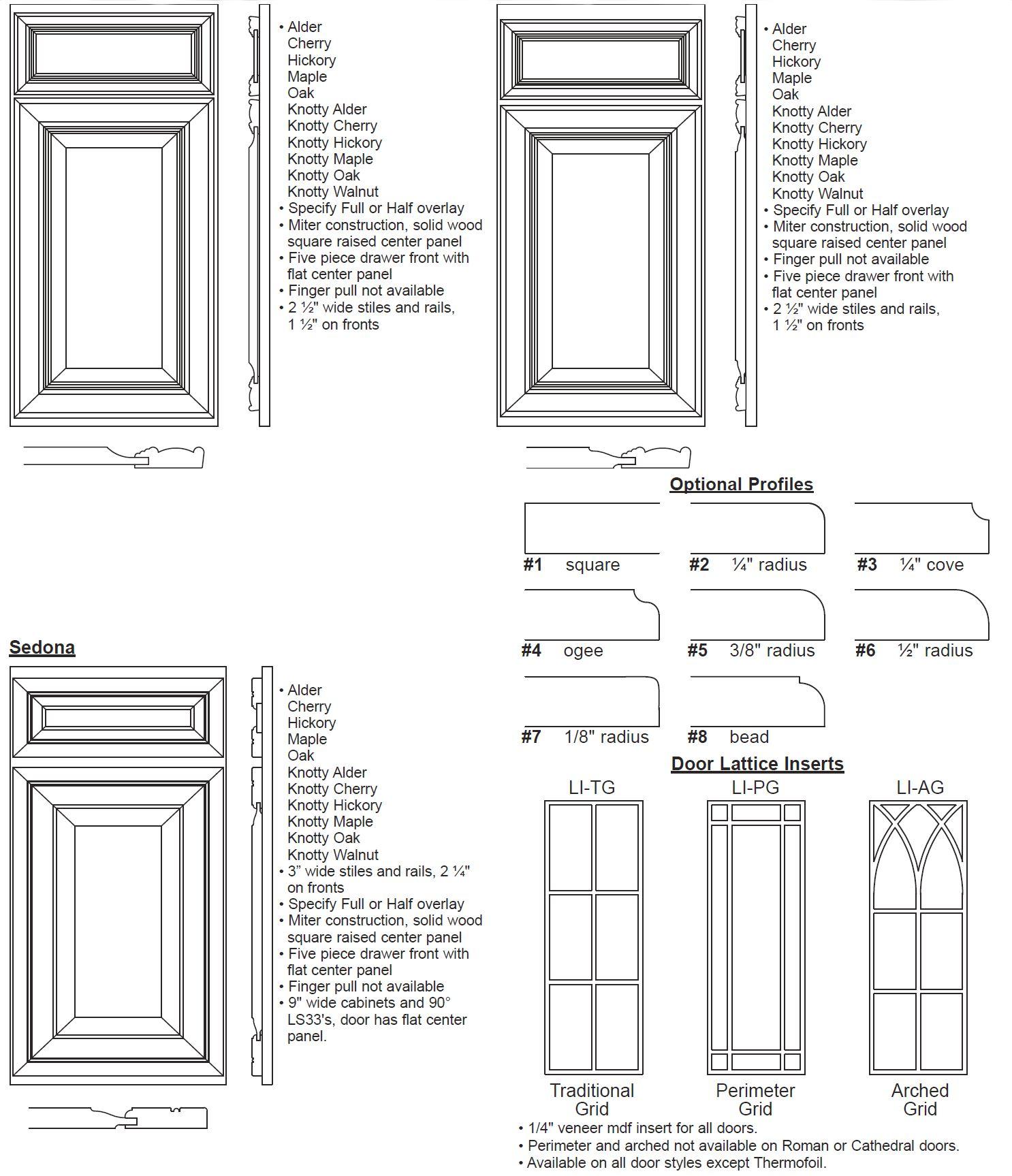 Crown Line Door Specifications